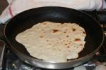 tortillas cu iz indian