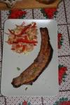 fleica de porc cu salata de varza
